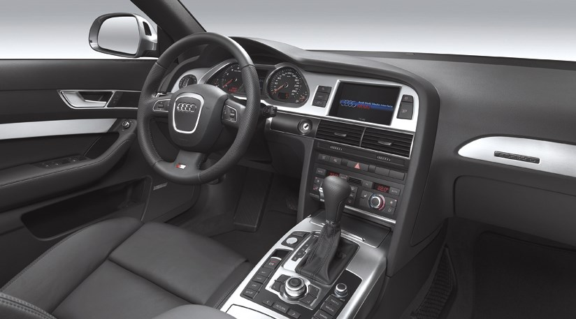 Audi a6 3 0t facelift 2008 review by car magazine for Interieur cuir audi a6