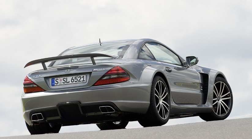 Mercedes SL65 AMG Black Series (2008) CAR review and video by CAR ...