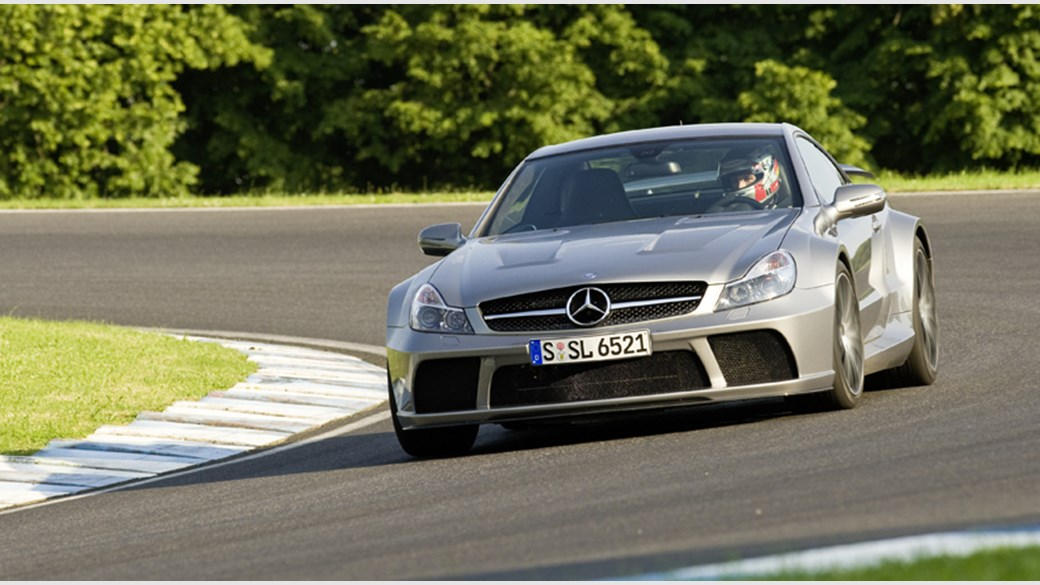 Mercedes SL65 AMG Black Series 2008 CAR review and video by CAR
