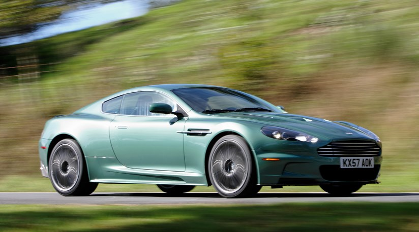 2008 Aston Martin Dbs Racing Green. Aston Martin DBS gets new