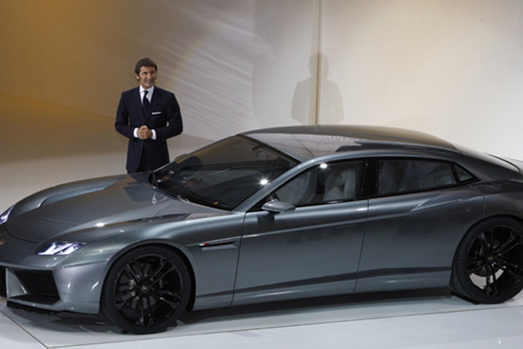 ... Lamborghini Estoque At The Paris Motor Show