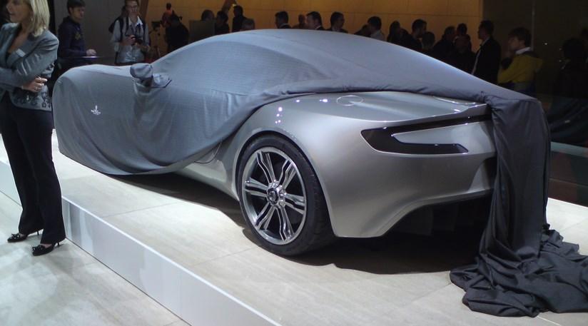 Aston Martin At The Paris Motor Show 2008