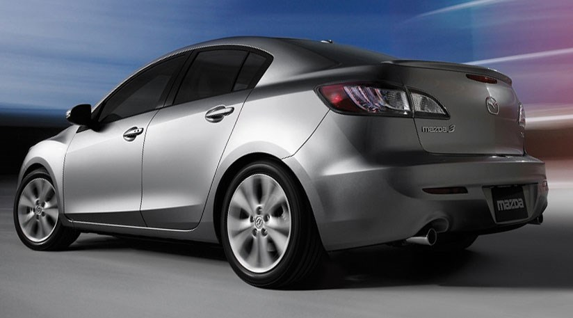 mazda 3 saloon 2009 first photos by car magazine. Black Bedroom Furniture Sets. Home Design Ideas