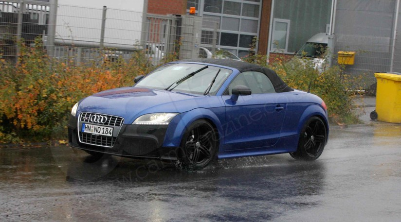 Audi TT spy photos