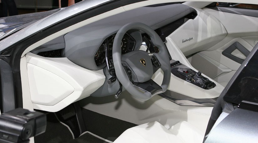 Lamborghini Estoque The Interior Photos By Car Magazine