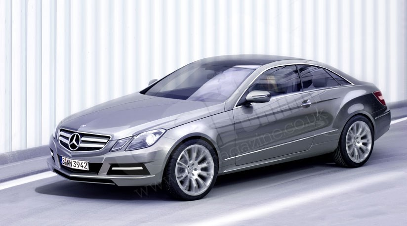 mercedes e class coupe 2009 revealed car magazine. Black Bedroom Furniture Sets. Home Design Ideas