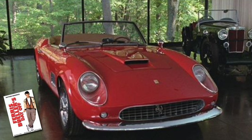 Ferrari 250 Gt California Ferris Buellers Day Off By Car
