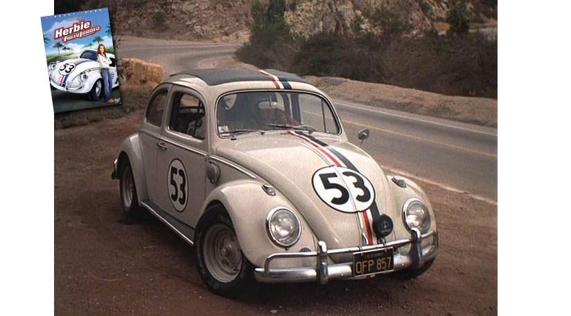 vw beetle herbie  car magazine