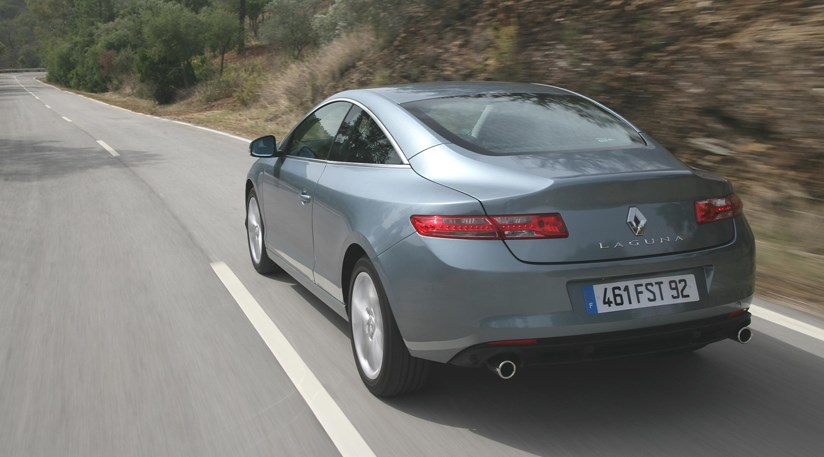 Renault Laguna Coupe 30 V6 dCi 2008 CAR review video by CAR
