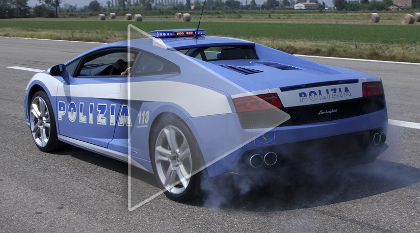 Lamborghini S New Police Car And Racer By Car Magazine