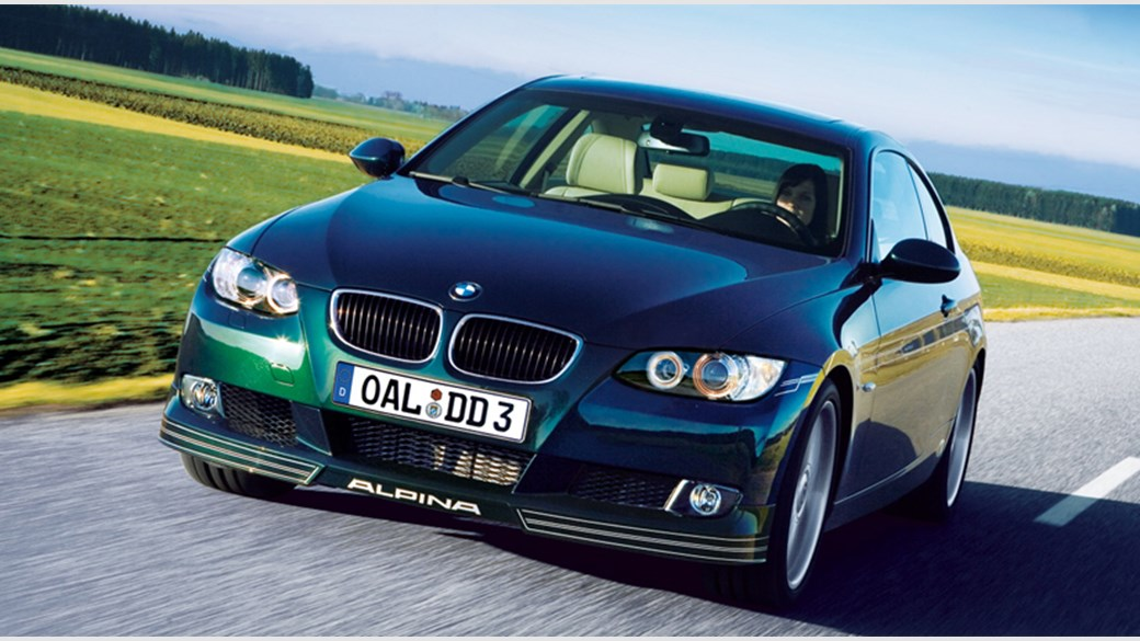 BMW Alpina D3 Bi-Turbo Coupe (2008) review by CAR Magazine