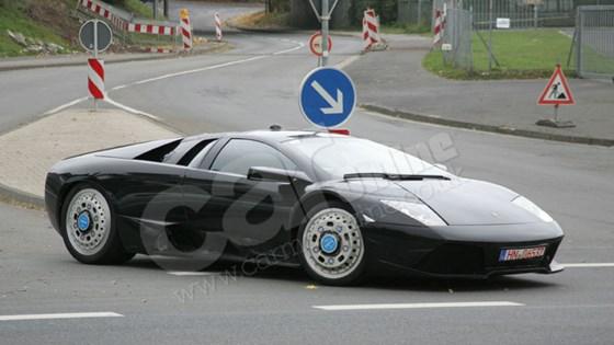 Lamborghini Murcielago Replacement (2010): The Spy Photos