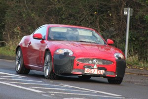 Jaguar readies new diesel XK sports car: our spy photos capture the XKR 5.0-litre V8 petrol car