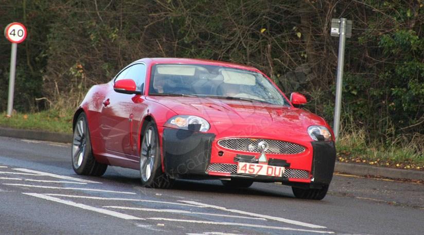 Jaguar Readies New Diesel XK Sports Car: Our Spy Photos Capture The XKR  5.0 Litre V8 Petrol Car ...