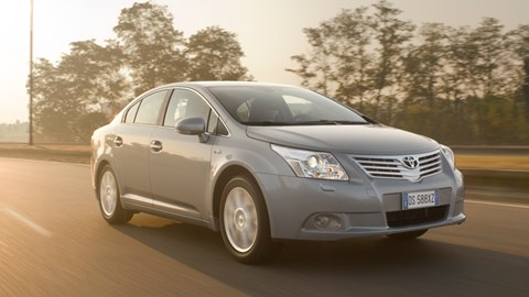 Toyota Avensis 2 2 D-4D 150 (2009) review | CAR Magazine