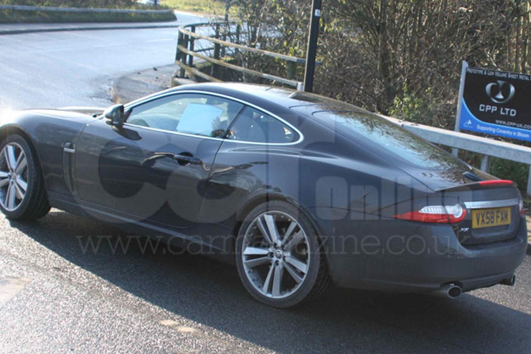 ... Jaguar XK (2009) Exterior Spy Photos