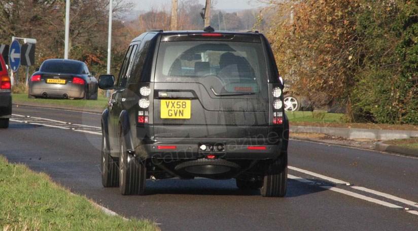 Land Rover Discovery Facelift 2009 Spy Photos Car Magazine
