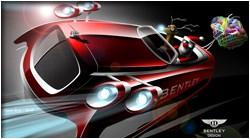 Bentley Christmas sleigh