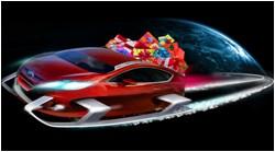 Ford Christmas sleigh