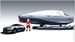Nissan Santas sleigh