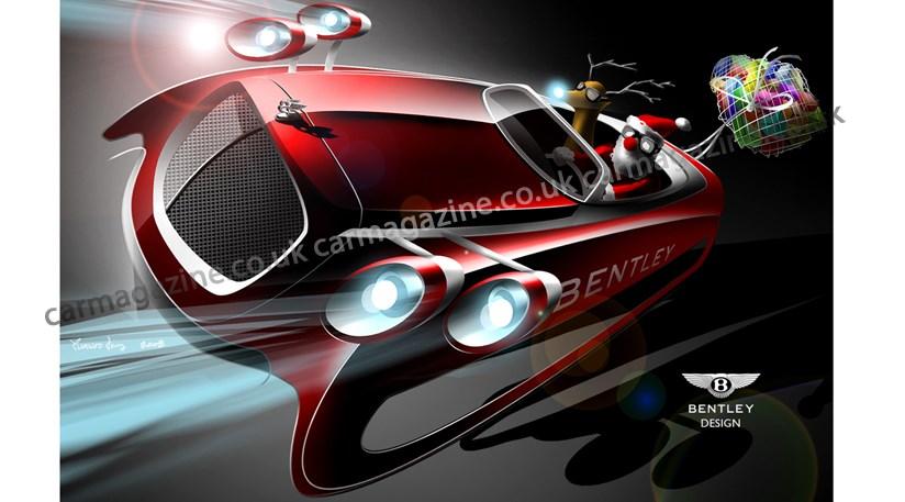 Bentley Designed Santa S Sleigh By Car Magazine