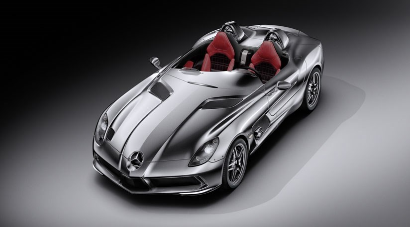 Mercedes McLaren SLR Stirling Moss ...