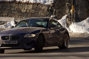 Ben Barry does what he does best as a swansong to the BMW M Division's straight six: thrashes the nuts off it in epic sideways fashion in the Z4 M coupe. Anyone got a number for Michelin?
