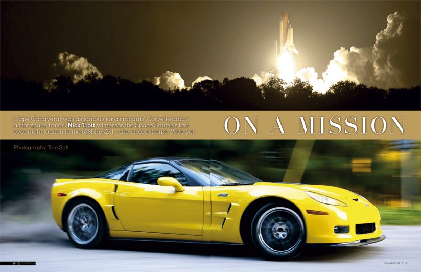 Cape Corvette: to the Space Shuttle in a ZR1 by CAR Magazine
