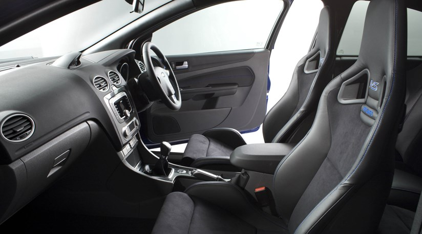 ford focus rs cabin ben barry found the recaros as grippy as sticky toffee pudding