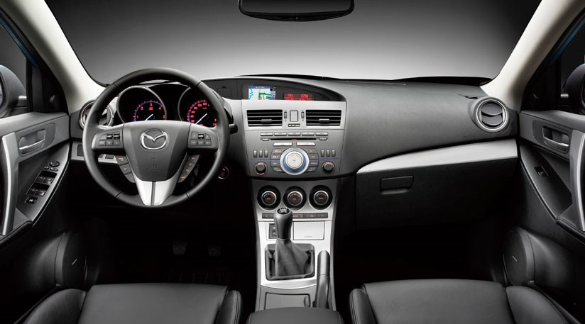 ... Mazda 3 Interior ...