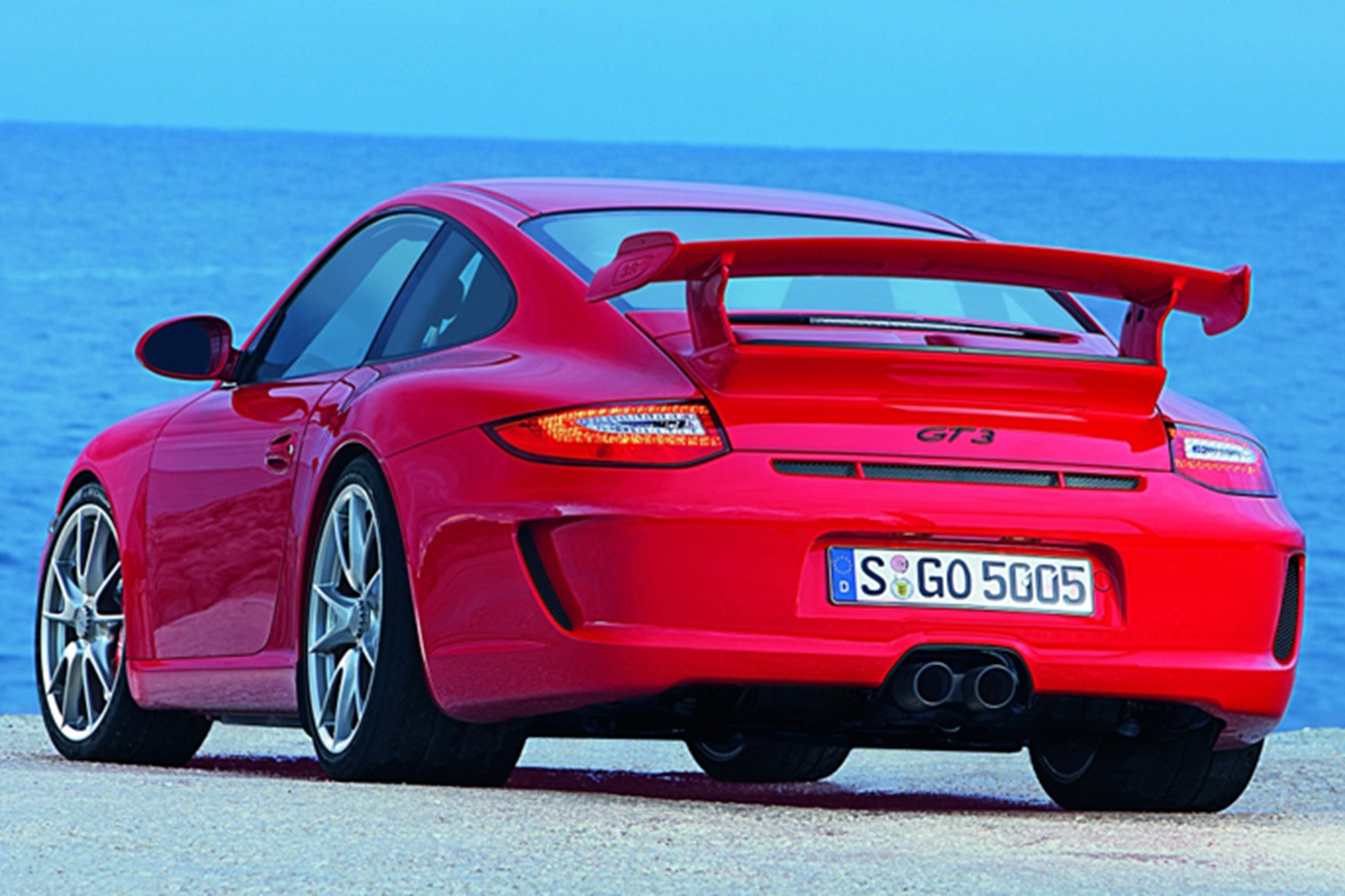 Hmm New Porsche 911 GT3 (2009) Arrives At The Geneva Motor Show 2009 In  March