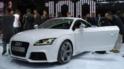 Audi TT RS at the Geneva motor show