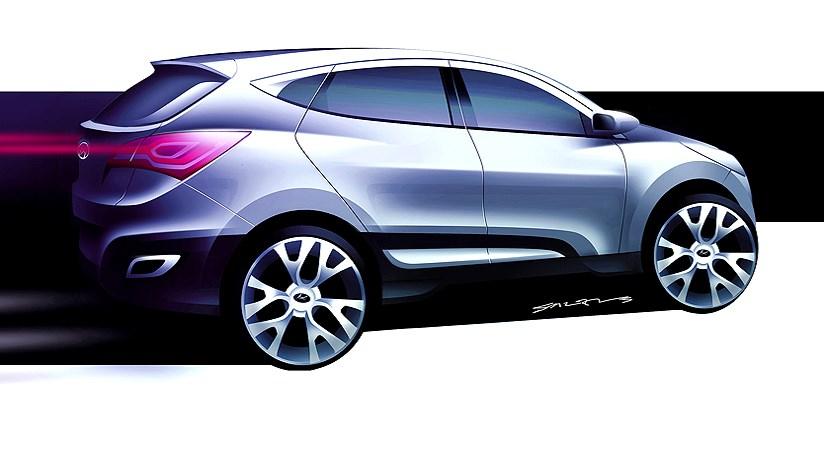 Hyundai Hed 6 Concept Car For Next Tucson Car Magazine