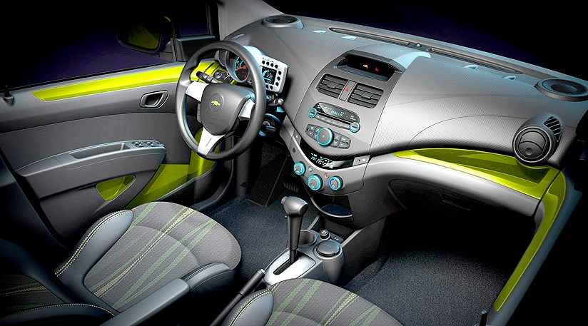 Chevrolet Spark first official pictures   CAR Magazine
