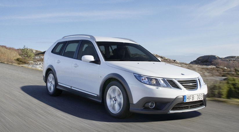 Saab 9 3X (20 09) First Pictures