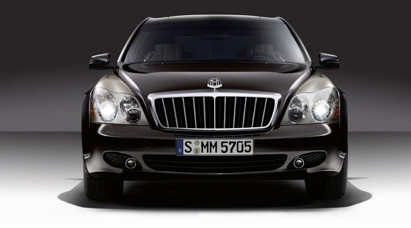 Maybach 57 and 62 Zeppelin: first official photos by CAR Magazine