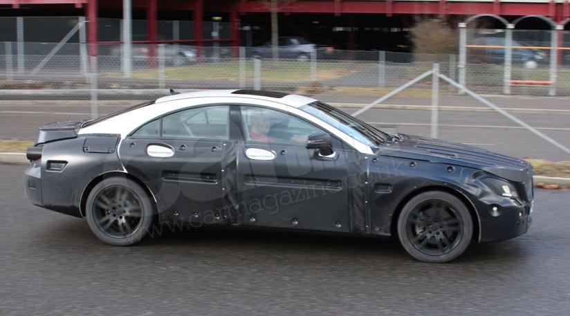 Mercedes Cls 2010 Spyshots Of Next Coupaloon Car Magazine