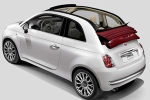Fiat 500C: the open-top Cinquecento bows in at Geneva 2009