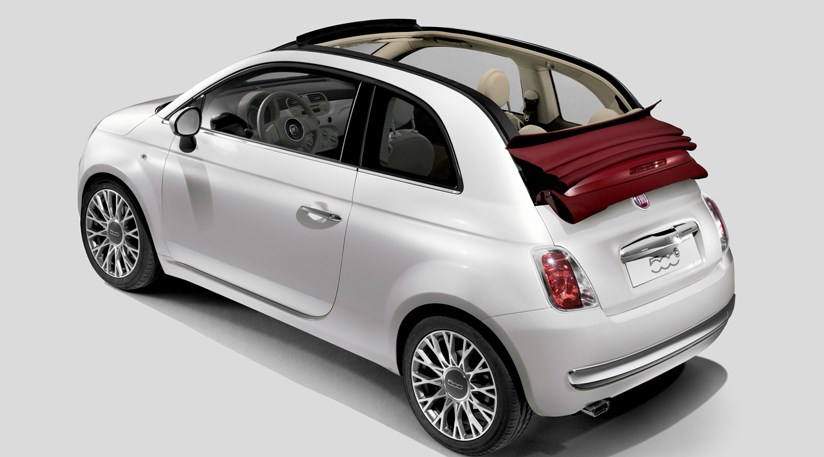 fiat 500c convertible (2009) first official pictures | car magazine