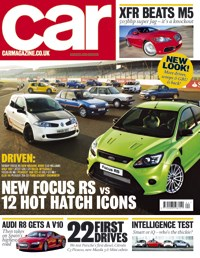 CAR Magazine - Hot hatches special