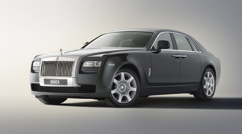 rolls royce 200ex concept 2009 first official photos of. Black Bedroom Furniture Sets. Home Design Ideas