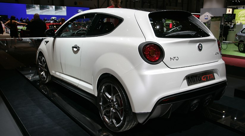 alfa romeo mito gta 2009 first official picture by car. Black Bedroom Furniture Sets. Home Design Ideas