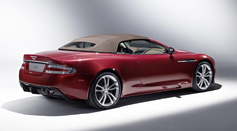 Aston Martin Dbs Volante. Aston Martin DBS Volante