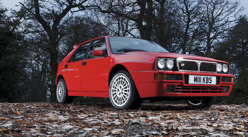 the greatest hot hatch lancia delta integrale by car magazine. Black Bedroom Furniture Sets. Home Design Ideas