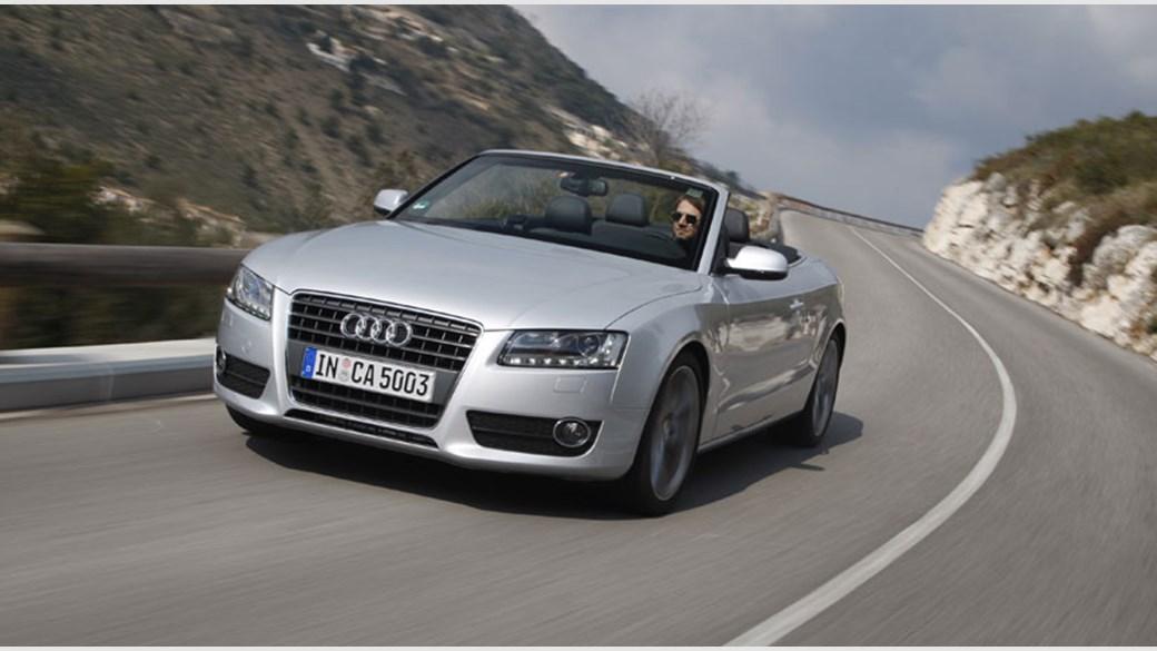 audi a5 2.0 tdi cabriolet (2009) review | car magazine