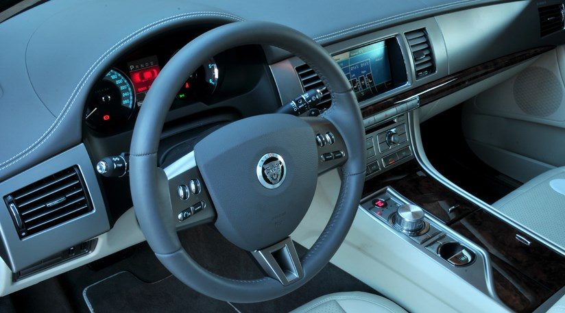 ... Interior Of Jag XF Diesel S Is Unchanged, Too. Cabin Is Perhaps XFu0027s  Triumphant Moment
