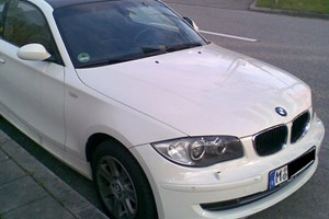 BMW 1-series tii with CSL-style roof