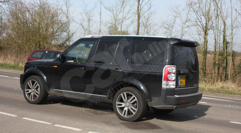 Land Rover Discovery 2010 Model Year Not Scooped Car