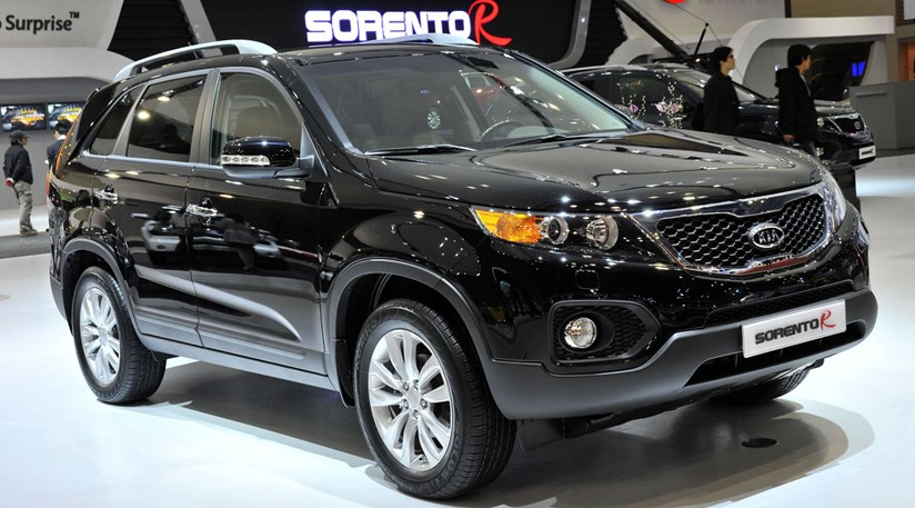 kia sorento 2009 first official picture from seoul by. Black Bedroom Furniture Sets. Home Design Ideas