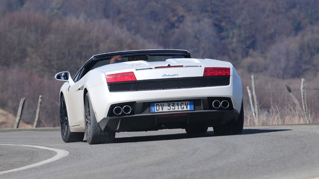 Lamborghini Gallardo LP560 4 Spyder (2009) CAR Review